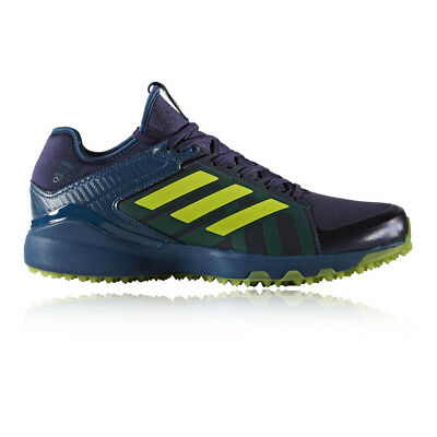 Adidas Lux Mens Navy Blue Hockey Court Sports Shoes Trainers Pumps Sneakers