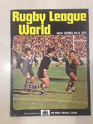 1972 Rugby League World Magazine (New Series No. 4)