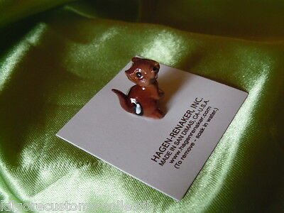 Hagen Renaker Chipmunk Baby Figurine Miniature 00334 FREE SHIPPING NEW