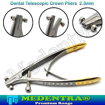 Premium Dental Telescopic Crown Dentures Remover Pliers TELESCOPE CROWNS 2.3 mm