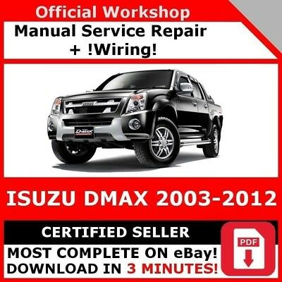 # Factory Workshop Service Repair Manual Isuzu Dmax 2003-2012 +Wiring