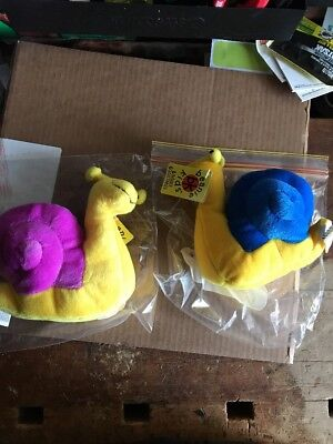 Beanie Kids Slip And Slide The snail Bk 147 & 148 New