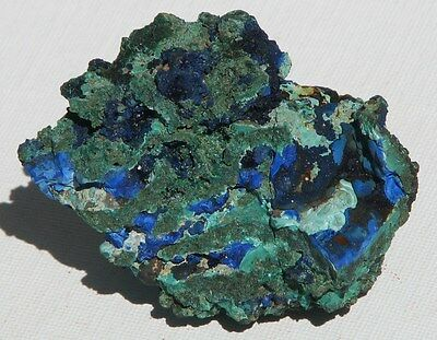 Natural Crystal Raw Azurite and Malachite Large 170g Rare Collectable (AM56)