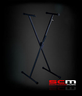 Sturdy X-Brace Keyboard Stand Khs Tornado Patented Trigger Height Adjustment