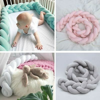 Soft Baby Infant Knotted knot Ball Cushion Sleeping Support Crib  Newborn Pillow