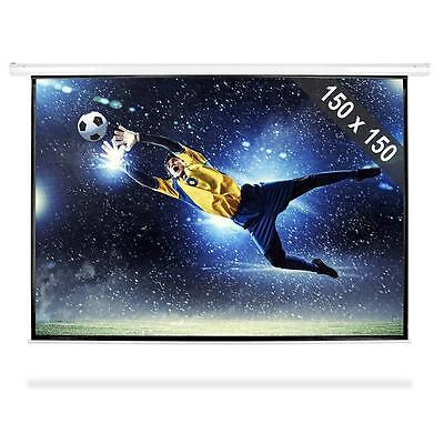 AV PROJECTOR SCREEN 150x150cm PRESENTATION SHOW DISPLAY *FREE P&P SPECIAL OFFER
