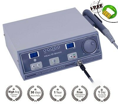 Ultrasound therapy device for sports injury 1mhz pain relief wid program HOS UU1