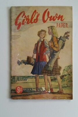 Rare - Girls Own Paper  May 1945