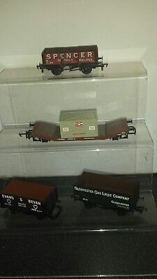 Hornby and airfix wagons