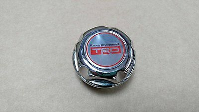 Toyota Chrome Oil Cap For Aygo Corolla Celica MR2 MRS Starlet Yaris