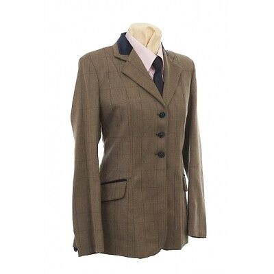 Tagg Ladies Spirit Saville, Brown, Show Jacket, Size 36