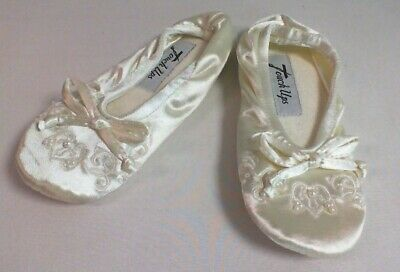 Touch Ups Kids Wedding Shoes - Ivory - Molly - Size US 11-12 / UK 10-11 #10D645