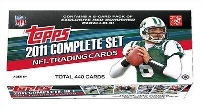 2011 Topps Football Factory Sealed Complete Hobby Set  MINT