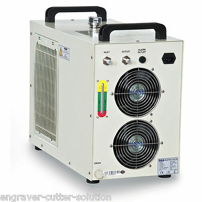 S&A CW-5000BI Industrial Water Chiller for 5W-10W Solid-state Laser 220V 60hz
