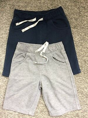 Young Boys Shorts X 2 M&S Age 4-5