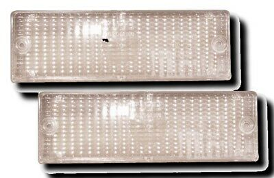 Bmw 3 Series E30 Clear Front Indicators Repeaters Lenses