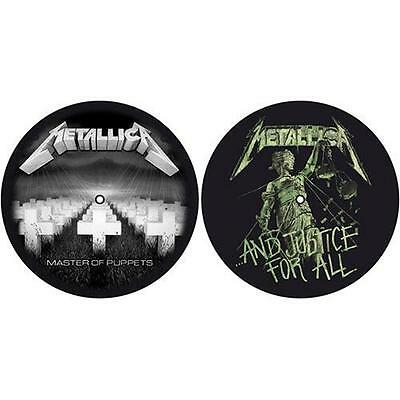 Metallica - Master Of Puppets - Justice For All Slipmat Set - New & Official