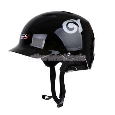 Gloss Black 60-62cm Safety Helmet for Water Sports Kayaking Wakeboarding