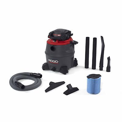 Ridgid Tool Company 50343 1620RV 16 Gal Red Wet/Dry Vac with Blower