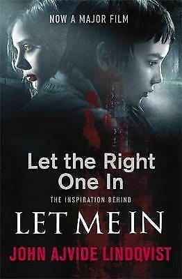 Let The Right One In by John Ajvide Lindqvist (Paperback) New Book