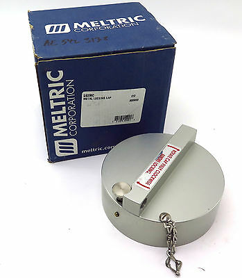 Meltric DS2MC Padlockable Aluminum Locking Cap Free Shipping