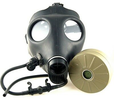 Israeli Civilian Gas Mask Adult With Filter and Straw (Model 4A1)