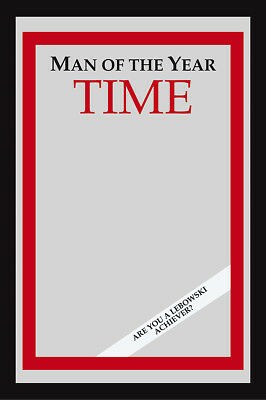 Man of the Year Time Magazine XL Mirror (The Big Lebowski)