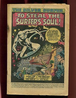 Silver Surfer #9 Coverless Buscema Adkins Mephisto Death of Flying Dutchman