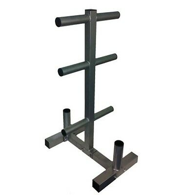 Evinco Olympic Weight Plate Tree 2 Bar Holder (450kg Capacity)