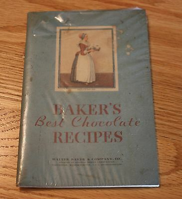 Vintage Baker's Best Chocolate Recipes Book / Walter Baker & Company Inc.