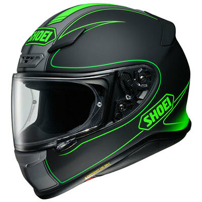 SHOEI NXR SPORTS Helmet Full Face Motorcycle Motorbike FLAGGER TC4 GREEN