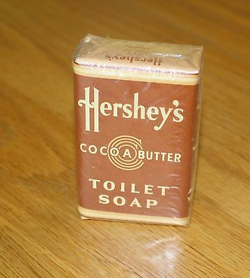 Vintage Hershey's Cocoa Butter Toilet Soap Bar / Hershey Estates /  Hershey Pa.