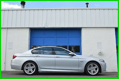 2016 BMW 5-Series 550i xDrive MSport Lane Keeping Technology HUD +++ Repairable Rebuildable Salvage Lot Drives Great Project Builder Fixer Easy Fix