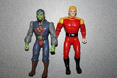 Lot of Defenders of the Earth Ming the Merciless & Flash Gordon Figures 1985