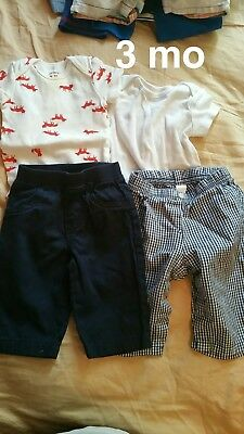 Baby boy lot 3-6mo • 4 Outfits