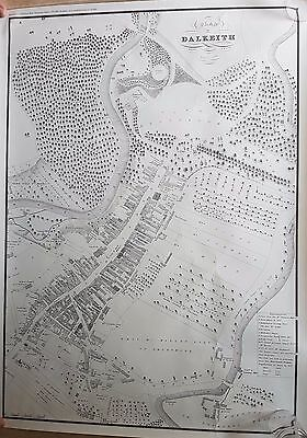 Plan of Dalkeith reproduction 1822