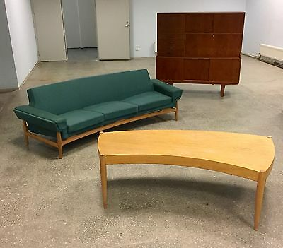 Mid-Century Sofa + Table by Johannes Andersen for Trensums , Scandinavian