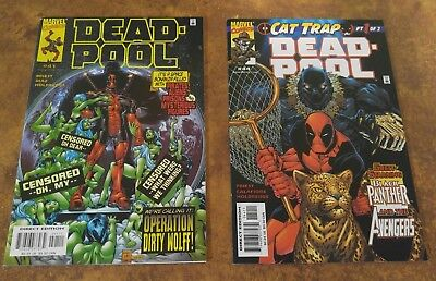Deadpool #41 & #44 - Marvel Comics