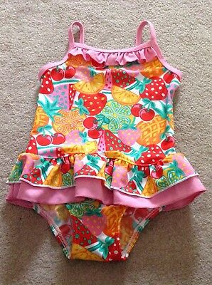 Baby Girls Swimsuit Age 18-24 Mths Bnwot