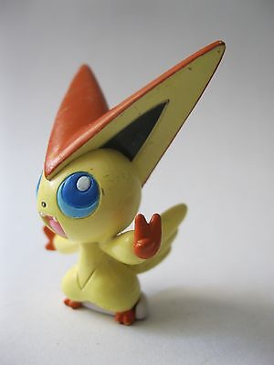 VICTINI stamped Tomy PVC Pokemon figure about 1.75 inches tall