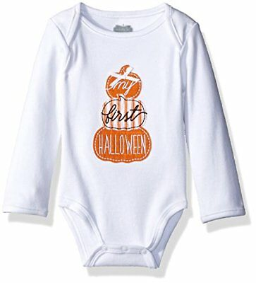 Mud Pie Baby One Piece Crawler Bodysuit Set, First Halloween, 0-6 Months