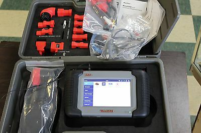 Autel MaxiDAS DS708 Vehicle Diagnostic Scanner w/ Accessories + Case