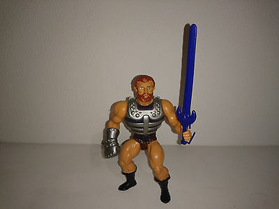 Masters of the Universe BATTLE FISTO 100% COMPLETE  - HE-MAN 1980'S MOTU