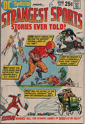 DC Special 7 June 1970 Strangest Sports Stories Ever Told DC Bronze Age 7.0 FN/V