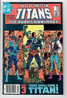 NEW TEEN TITANS #44 - Grade 8.5 - Bronze Age key: 1st NIGHTWING appearance!