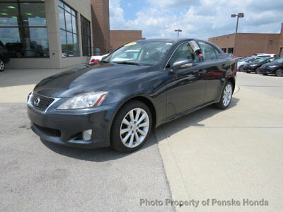 2009 Lexus IS 4dr Sport Sedan Automatic AWD 4dr Sport Sedan Automatic AWD Low Miles Automatic Gasoline 2.5L V6 Cyl GRAY