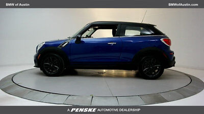 2013 Mini Cooper S  2 dr Coupe Manual Gasoline 1.6L 4 Cyl Starlight Blue Metallic