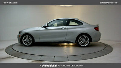 2017 BMW 2 Series 230i 230i 2 Series 2 dr Coupe Automatic Gasoline 2.0L 4 Cyl Glacier Silver Metallic