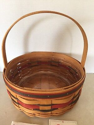 Collectible Longaberger 1992 Crisco American Cookie Celebration Basket