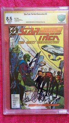 Star Trek: The Next Generation #6 Signed By Denise Crosby CBCS